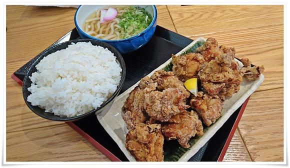 特盛からあげ定食@鶏麺茶屋