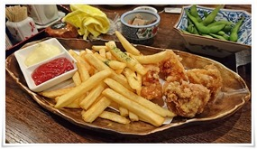 ポテト@旬菜鮮魚と旨い酒 栄都屋