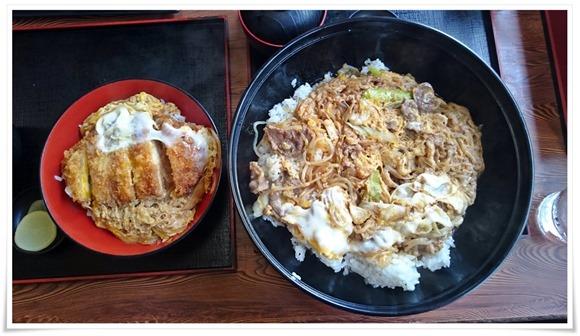 カツ丼と比較@こまどりうどん