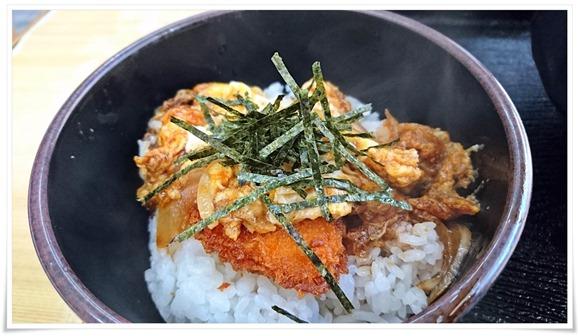 ミニかつ丼@としちゃんうどん