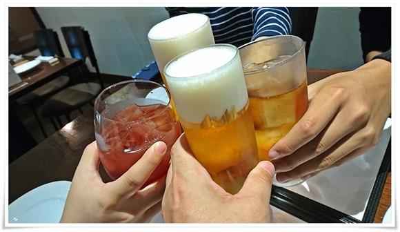 乾杯@ラ・ルナ・ロッサ