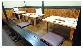 テーブル席@天ぷら膳と旨いもん ほ