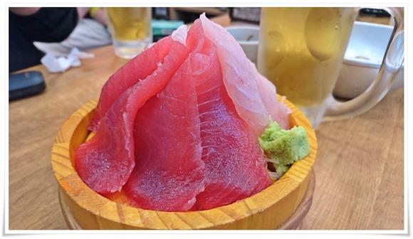 まぐろ二種盛り@磯丸水産 小倉魚町店