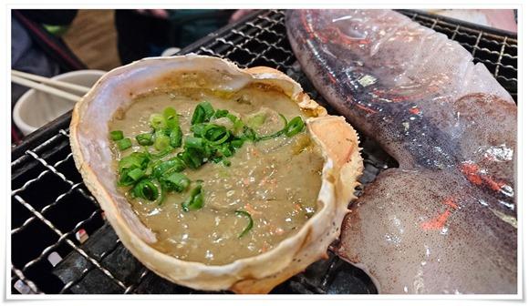 蟹味噌甲羅焼@磯丸水産 小倉魚町店