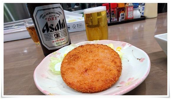 ハムカツ@葵食堂