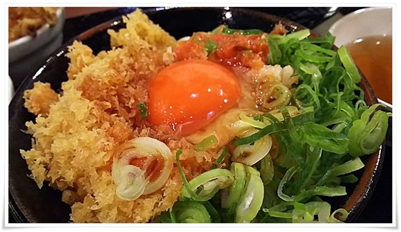 丸亀製麺TKG最高!