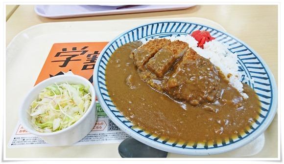 大盛かつカレー@第一食堂