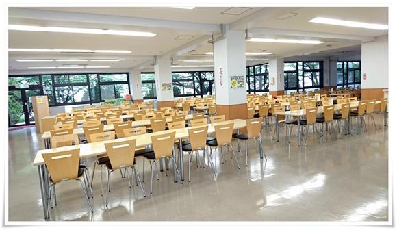 学食の風景@福大第三食堂