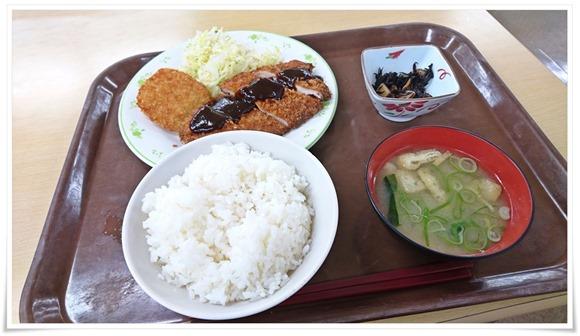 チキンカツ定食@福大第三食堂