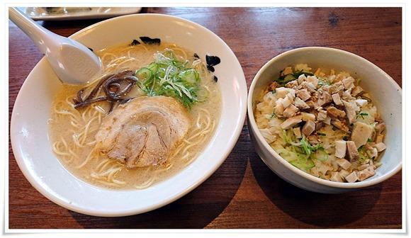 焼豚丼セット@六分儀ラーメン