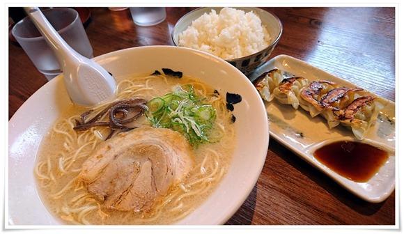 餃子定食@六分儀ラーメン