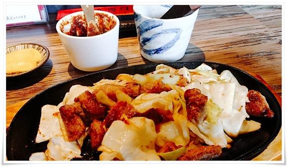 北九州で「スタミナ鉄板」~八幡西区三ヶ森「五衛門」のお昼限定メニューで食べれちゃいます!