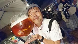 顔よりデカイビックグラス@直活祭