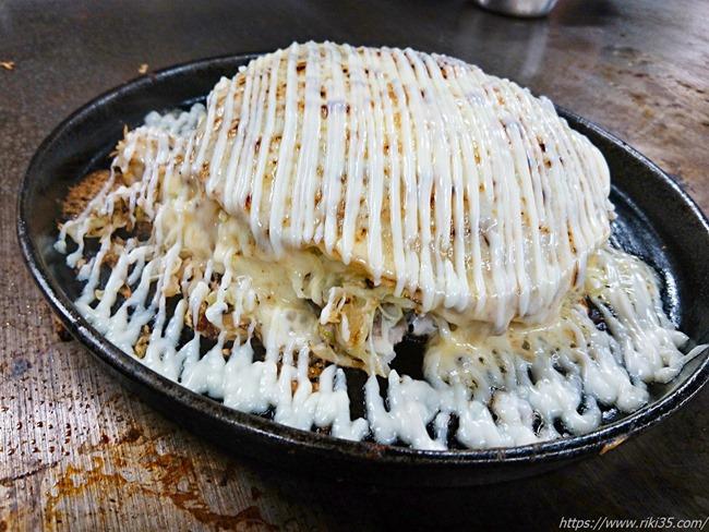 チーズ&マヨトロトロ@鉄板焼鶏いしちゃん