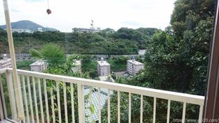 店内からの風景@リンガーハット 長崎宿町店