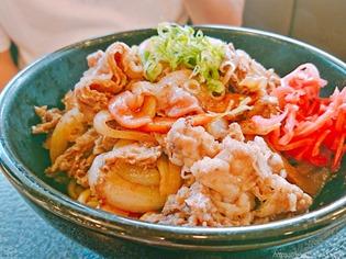 牛がっりまぜ麺@リンガーハット 長崎宿町店