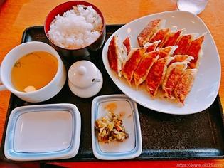 餃子15個定食@リンガーハット 長崎宿町店