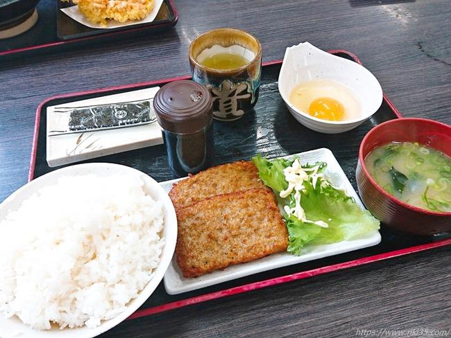 つくね朝定食@資さんうどん中間店
