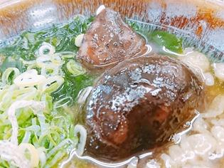 椎茸がいっぱい@資さんうどん大門店