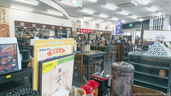 店舗奥から撮影@資さんうどん陣山店
