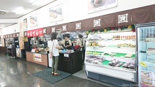 レジ風景@資さんうどん陣山店