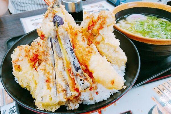 【資チャレ⑮】資さん最北端「資さんうどん新下関店」にて朝からガッツリ「秋天丼」を喰らう!