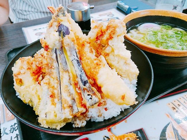 秋天丼+ミニうどん@資さんうどん新下関店