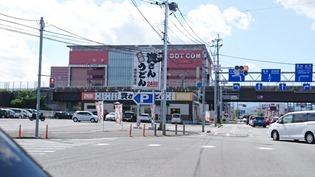 八木山バイパス入口近く@資さんうどん飯塚穂波店