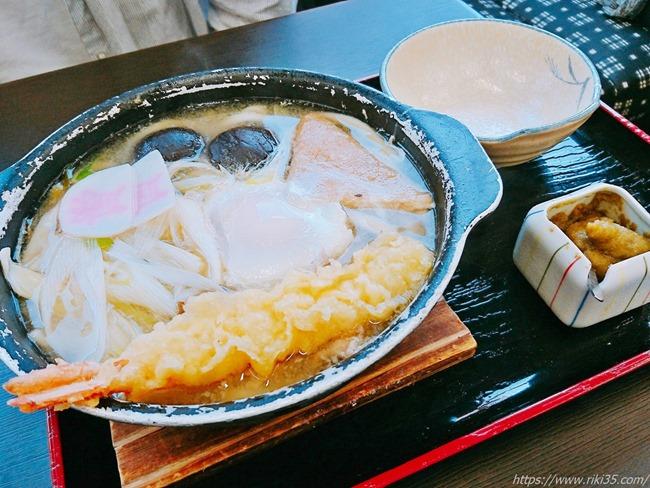 鍋焼うどん@資さんうどん飯塚穂波店