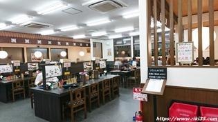 入口から@資さんうどん野芥店