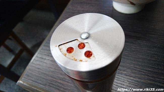 七味が出ない@資さんうどん伊都店