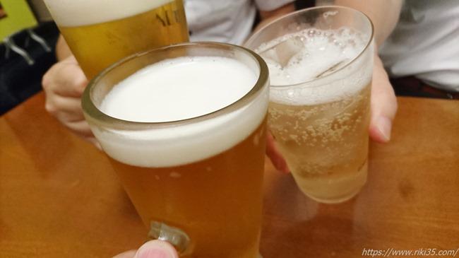 乾杯@辛味噌鉄板スタミナ亭