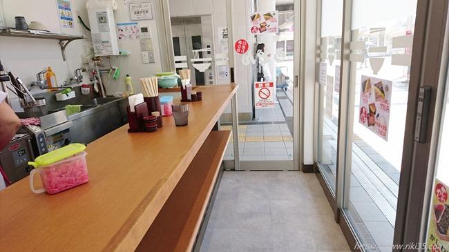 カウンター@東筑軒黒崎駅うどん店