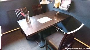 テーブル席@焼肉ふくたろう 本城東店