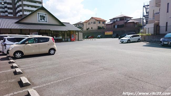 駐車場@資さんうどん浅川店