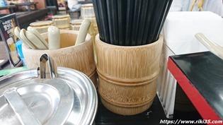 竹の箸立て@資さんうどん宇佐町店