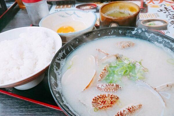 【資チャレ24】資さんの「貝汁ライス」が具材たっぷりでボリューム満点でした!@資さんうどん西小倉店