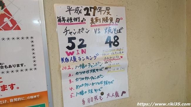 人気対決@八幡のチャンポン