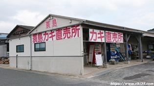 蓑島カキ直売所