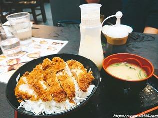 ソースチキンカツ丼@資さんうどんイオン八幡東店