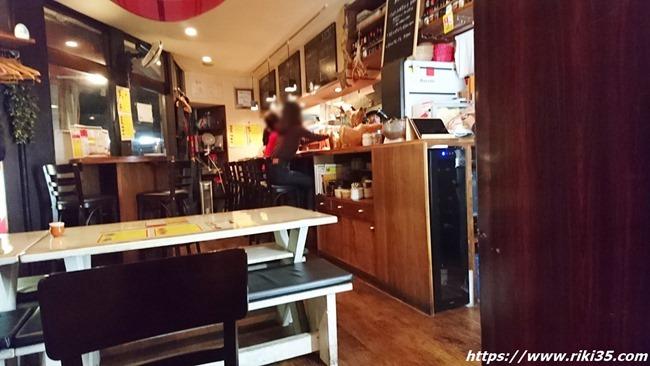 店内の様子@スペイン食堂 八幡バル8