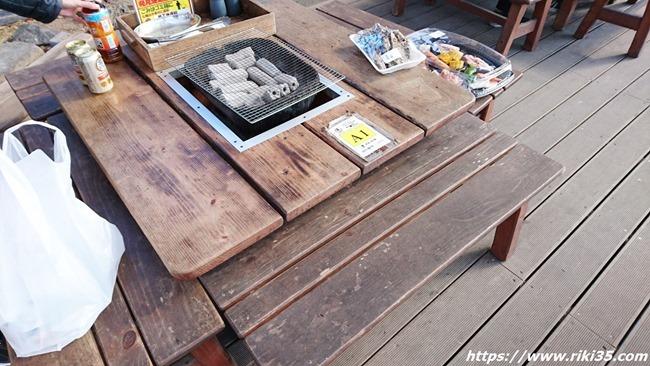A1テーブル@お魚直売所 とと市場