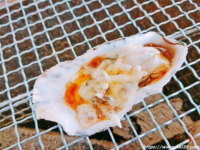 チーズトッピング@恒見 焼き喰い処