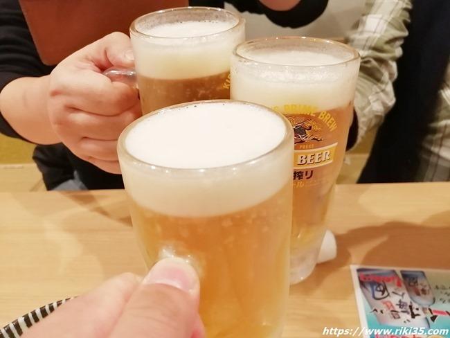 乾杯@HARUNOKI(はるのき)