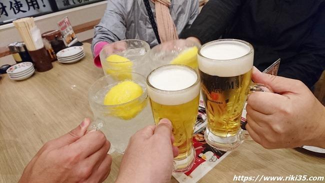 乾杯@餃子のたっちゃん銀天街店