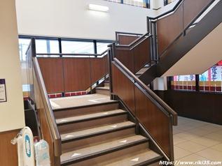 階段@資さんうどん半道橋店