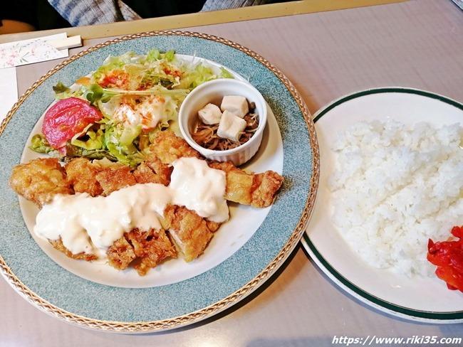 チキン南蛮定食@レストラン喫茶 五番館