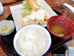 チキン南蛮定食@お食事処 さき