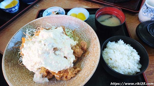 チキン南蛮定食@よねちゃん食堂