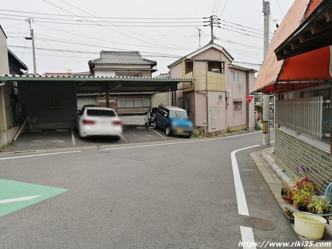 駐車場完備@大福食堂